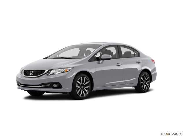 Certified Pre-Owned 2014 Honda Civic 4dr CVT EX-L w/Navi
