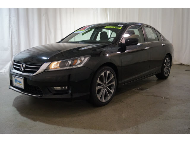 Certified Pre Owned 2015 Honda Accord 4dr I4 CVT Sport