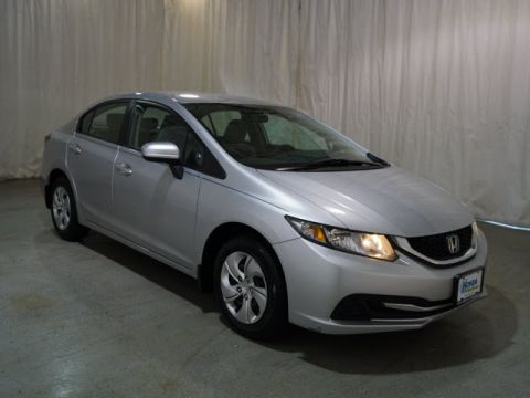Pre-Owned 2014 Honda Civic 4dr CVT LX FWD 4dr Car