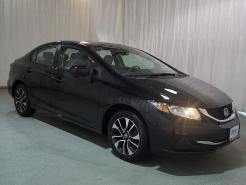 Pre-Owned 2015 Honda Civic 4dr CVT EX FWD 4dr Car