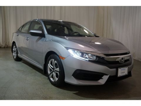 Pre-Owned 2016 Honda Civic 4dr CVT LX