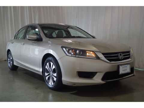 Certified Pre-Owned 2015 Honda Accord 4dr I4 CVT LX PZEV