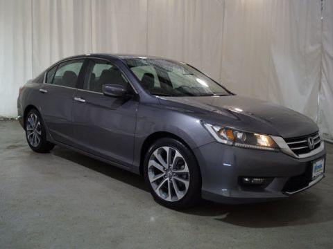 Pre-Owned 2015 Honda Accord 4dr I4 CVT Sport FWD 4dr Car