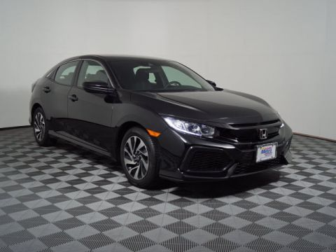 New 2018 Honda Civic Hatchback LX CVT w/Honda Sensing